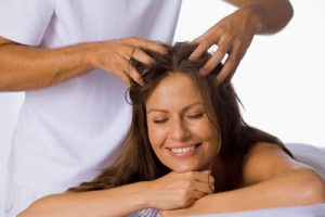 Healthy scalp versus hair loss