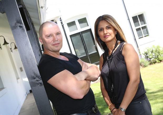 Ian Watson and Ranbir Rai-Watson