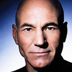 Patrick Stewart talks about his baldness